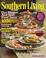 It's A Mystery in Southern Living Magazine